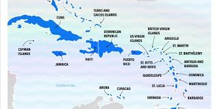 Best Caribbean Islands Chart