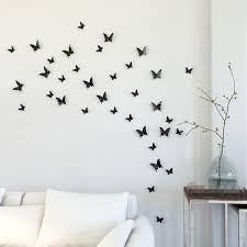 Wall Decor 3D Butterfly 14Pcs 9 Colors Pvc Sticker Home Wedding