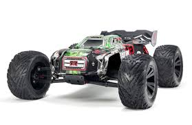 Arrma 1/8 Kraton 6S BLX 4WD RC Speed Monster Truck Green 96kph+