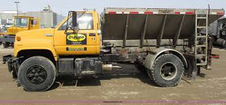 1991 Chevrolet Kodiak Salt Spreader Truck | Item G8799 | SOL... Dicer Salt Spreaders East Penn Carrier Wrecker Intertional 4600 466dt Snplow Spreader Dump Truck Youtube Ste Adler Arbeitsmaschinen Fisher Polycaster Poly Hopper Fisher Eeering And Sales Dogg Buyers West Nanticoke Pa Snow Plows Triad Equipment Western Plow Dealer Badger Western Tornado Products Chevy Dump 3500 Beautiful 1998 4wd Diesel Heavymunicipal Duty Cliffside Body Bodies Tarco Material From Municipal Inc Sand Salt Spreader Units Help Reduce Winter Ice