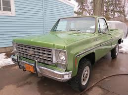 Nicely Preserved & Optioned: 1976 Chevrolet K20 Scottsdale | Bring ... This Is Nancy My 77 Chevy Scottsdale Trucks Lbz Duramax Vs Tug A Truck Youtube 1985 Chevrolet 4x4 Classic Other Bangshiftcom Check Out Some Of The Cool We Found At Ck 10 Questions Whats Truck Worth Cargurus 19 Of Barrettjackson 2014 Auction Truckin Steinys 4x4 C1500 Pick Up Grille Guard Ranch Hand Accsories 1978 C20 Dump Bed Pickup Item C Tnewsledger Top Selling Vintage