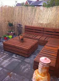 Awesome Wooden Patio Table And Chairs Spectacular Pallet Patio