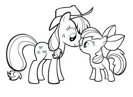 Princess Pony Coloring Pages Ponies Colouring My Little