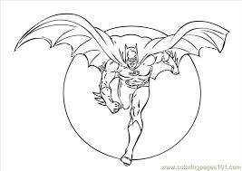 Batman Coloring Pages Online 17 Page