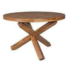 finebuy esstisch suva6334 1 design esszimmertisch rund ø 120 cm x 75 cm massiv holz landhaus esstisch 4 personen küchentisch tisch für esszimmer