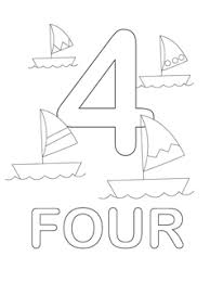 Ideas Collection Coloring Pages Numbers 1 5 Also Sheets