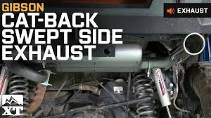 Jeep Wrangler Gibson Cat-Back Swept Side (2007-2017 JK) Exhaust ... Custom Center Out Exhaust On Mad F150 Ford Forum Compiling A List Of Exhaust Systems Available For The Armada Stage 3s 2012 50l Fx4 Project Truck Step 2 2011 Silverado With Gibson Super Cat Back Youtube 52017 Catback Performance System 2004 Dodge Ram Hemi Flowmaster Doss What Do You Think Is Best Looking Bolt On 42008 Mbrp Installer Series 3 Single Side Exit Cai And Catback Complete Enthusiasts Forums Adds Power Departure Angle To Sgt Rocker Jeep 042018 Tips Amazoncom 600023 Metal Mulisha