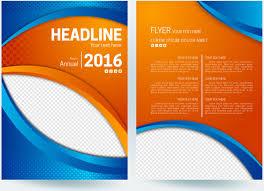 Background Designs For Flyers Flyer Design Free Vector Download 44197