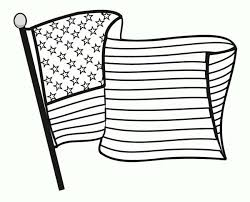 Veterans Day Coloring Pages American Flag