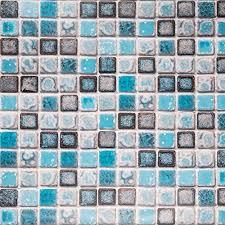 hode mosaik klebefolie selbstklebend fliesenaufkleber dekorative fliesenfolie vinyl für badezimmer wand küche wasserdicht leicht zu reinigen blau
