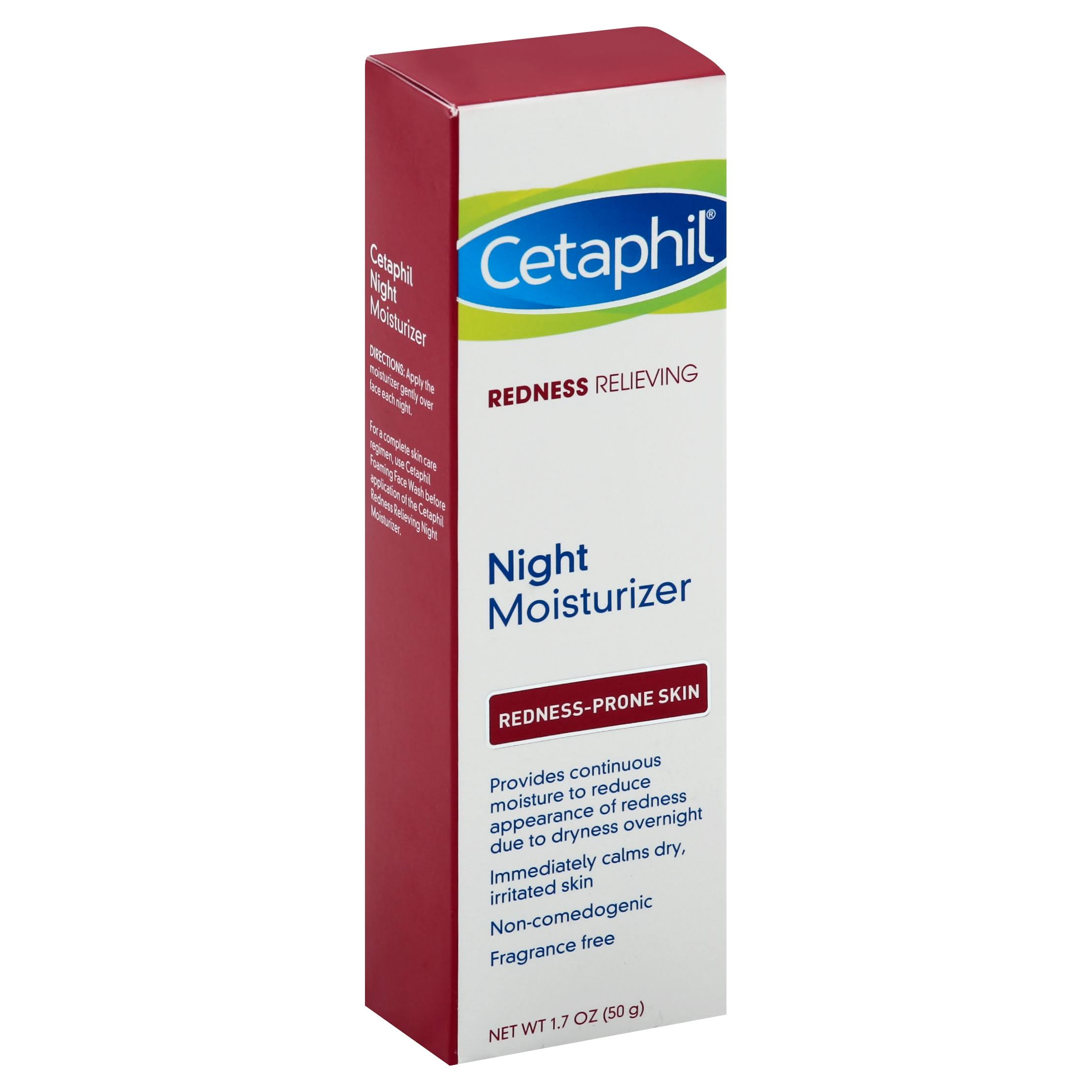 Cetaphil Redness Relieving Night Moisturizer - 1.7oz