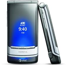 nokia mural 6750 unlocked gsm flip phone with second external oled