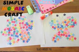 Easy Mosaic Craft Teach Beside Me