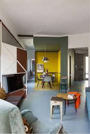 buntes wohnzimmer mit esszimmer realisierungsbüro sceg