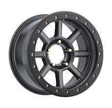 100 Discount Truck Wheels Level 8 Bully Pro Rims 16x85 5x55 5x1397 Matte Black 6