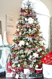 Best Tree Decorating Ideas How To Decorate A Pictures Of Decorated Christmas Trees With Mesh Ribbon Trim