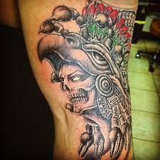 Good Mexican Flag Tattoo Designs 64 On Old School With