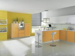 Orange And Yellow Kitchen Ideas Modern Orange Kitchens