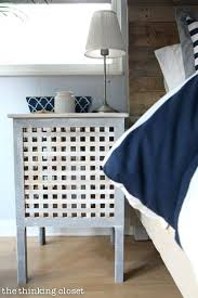 Nautical Bedroom Decor Hacked Side Tables Part Of A Rustic Master Makeover Via