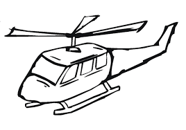 Helicopter Coloring Page Free Printable Pages For Kids Picture
