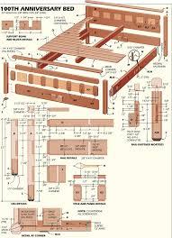 bed plans woodworking bed plans diy u0026 blueprints