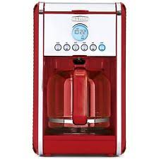 BELLA LINEA Collection 12 Cup Programmable Coffee Maker Color Red 14108