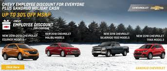Chevy Dealer In Green Bay, WI | Gandrud Chevrolet
