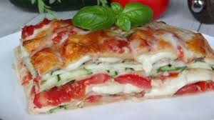 jeux de cuisine lasagne lasagnes végétariennes aux courgettes tomates et mozzarella