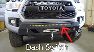 100 Truck Led Light Bar LED Install Dashboard Switches On 2018 Toyota Tacoma