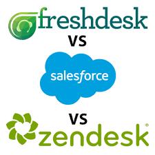 Help Desk Software Features Comparison by Zendesk Vs Salesforce Vs Freshdesk Comparison Of Top 3 Help Desk