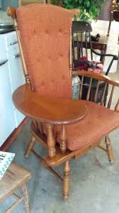 Heywood Wakefield Chairs Antique by Heywood Wakefield Chair W Writing Sewing Arm U2013 Excellent