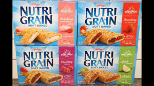 Nutri Grain Soft Baked Strawberry Greek Yogurt Raspberry Apple Cinnamon Review