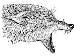 Wolf Coloring Pages For Adult