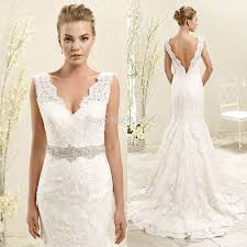 elegant wedding dress 2015 with lace