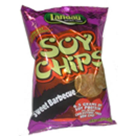 Landau Kosher Soy Chips - Sweet Barbecue, 3.5oz