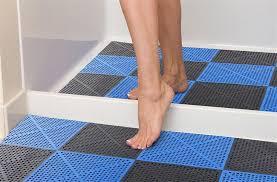 soft flex tiles premium shower and pool deck drainage tiles