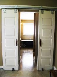 Wooden Sliding Barn Door Design Ideas For Your Home : Home Design Amazoncom Hahaemall 8ft96 Fashionable Farmhouse Interior Bds01 Powder Coated Steel Modern Barn Wood Sliding Fascating Single Rustic Doors For Kitchens Kitchen Decor With Black Stool And Ana White Grandy Door Console Diy Projects Pallet 5 Steps Salvaged Ideas Idea Closet The Home Depot Epbot Make Your Own Cheap