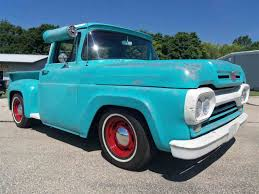 1960 To 1970 Ford Trucks For Sale, | Best Truck Resource Why Nows The Time To Invest In A Vintage Ford Pickup Truck Bloomberg 1960 F100 Classics For Sale On Autotrader This Sema Build Will Make You Say What Budget Wheels Pinterest Trucks And Classic Ranchero Red Motormax 79321acr 124 F1 Street Legens Hot Rods The Show 2016 Youtube Ford 12 Ton Short Bed 460 Big Block Power C6 Frankenford With Caterpillar Diesel Engine Swap Classiccarscom Cc708566 To 1970 Trucks For Best Resource Nice Lowered Stance Satin Black Paint Job
