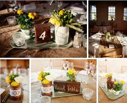 Fall Rustic Themed Wedding Decor