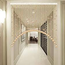 guowei bogen form perlenvorhang türvorhang kristall glas zum tür platz dekoration raumteiler wohnzimmer schlafzimmer wandschrank hängend strings