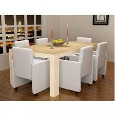 chaises fauteuil chaises de cuisine et de salle a manger fauteuil a roulettes blanc