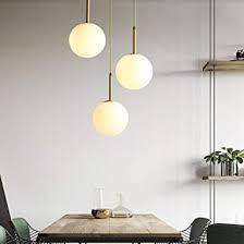 kronleuchter mit glaskugel glas kugeln leuchte hängele hängele pendelle für schlafzimmer wohnzimmer restaurant bar 1pcs 25cm