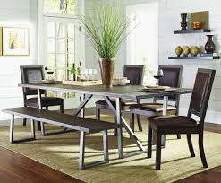 Black Dining Room Table And Chairs Sets With Bench Lovely Chair