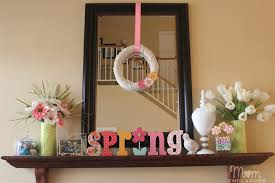 Mantel Decorating Ideas For Spring Home Design Picture 7 District Dallas Apartments Apartment