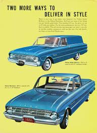 1961 Ford Falcon Sedan Delivery & Ranchero (Canada) | Vintage Ford ...