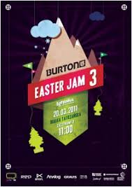 This Easter Event Poster Design By Austrian Illustrator Wojciech Zalot Is A Lesson To Us All In Contrast And Color Pop Simple But Amazingly Eye