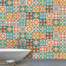 10pcs wasserdichte bad boden aufkleber schälen stick selbstklebende boden fliesen küche wohnzimmer decor nicht slip boden aufkleber