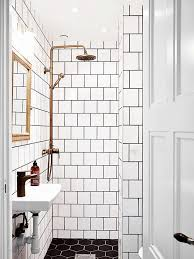 black and white tile bathroom decorating ideas best 25 white tiles