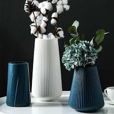 morandi kunststoff vase wohnzimmer dekoration ornamente