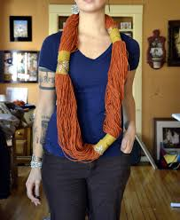 hello there handmade banner no sew or knit yarn infinity scarf